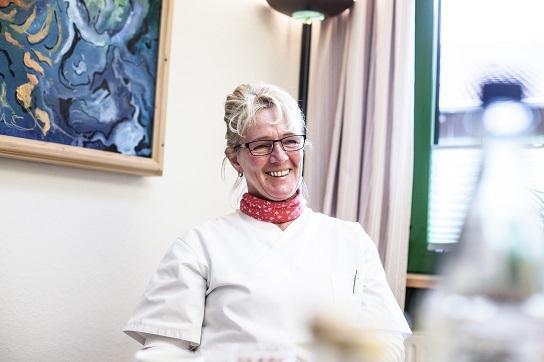 Christel Scheer, Leiterin der Hauswirtschaft