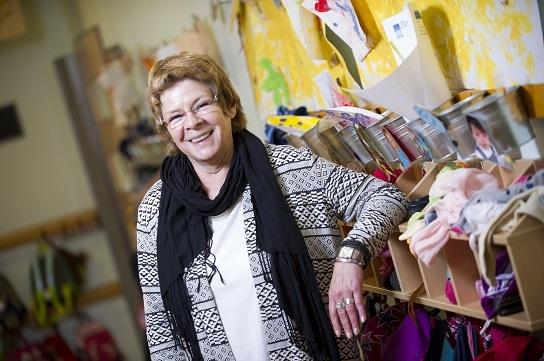 Sabine Asmussen, Einrichtungsleiterin der Kindertagesstätte Sonnenschein