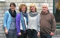 Jennifer Ots, Kerrin Schöne, Birgit Schatz, Hans-Peter Locht