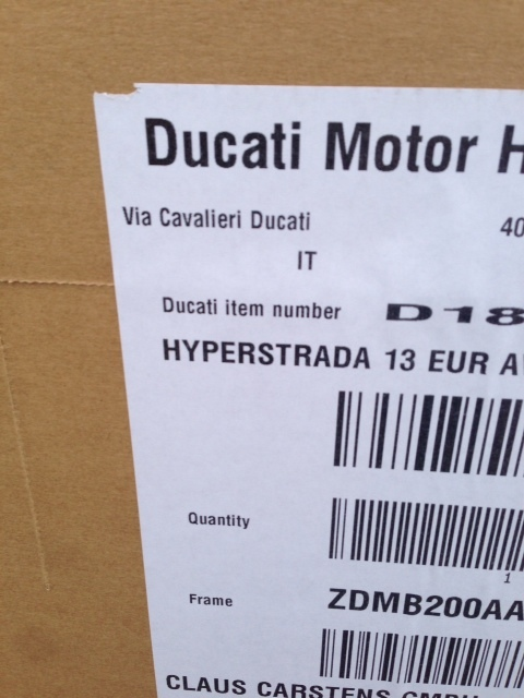Hyperstrada live bei Ducati-SH