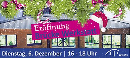 Eröffnung Brücke Werkstatt Büdelsdorf