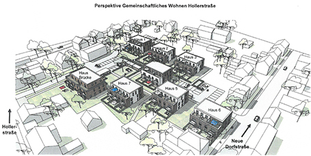 Hollerstraße West Bauplan