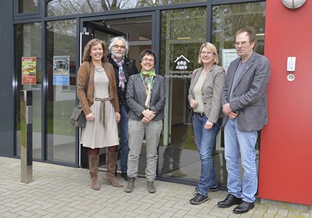 Von links: Heike Rullmann, Klaus Schaffner, Monika Heinold, Marret Bohn, Klaus Magesching