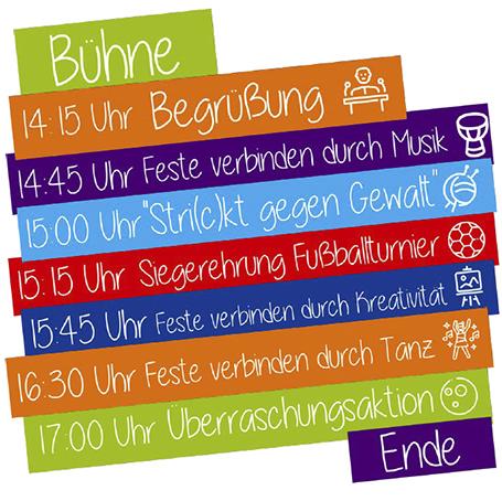 Programm Fest Frauenhaus Stadtteilhaus Mastbrpook