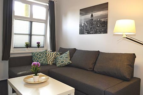 Brücke Studio Appartement Rotenhof Innenausstattung