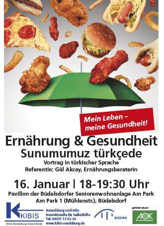 Vortrag türkische Sprache KIBIS Ernährung