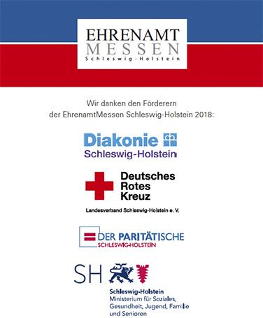 Förderer Ehrenamtsmessen Schleswig-Holstein 2018