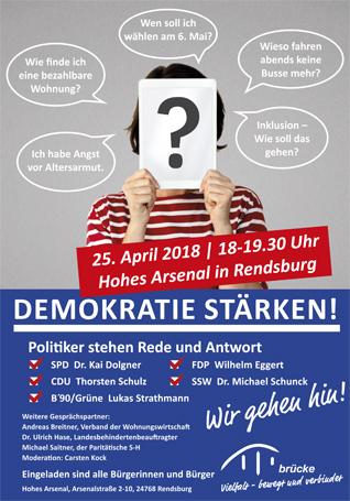 Kommunalwahl Schleswig-Holstein Brücke Rendsburg-Eckernförde