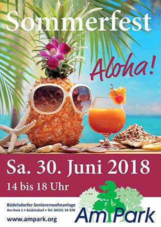 Sommerfest Büdelsdorfer Seniorenwohnanlage