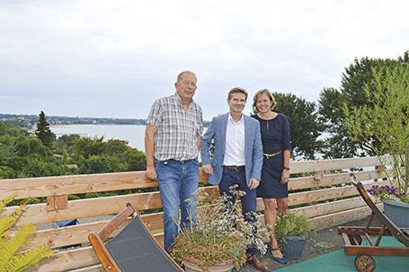 Hotel Alte Fischereischule Eckernförde Ministerbesuch Heiner Garg