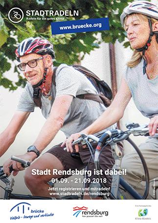 Klima-Bündnis Stadtradeln Rendsburg Brücke