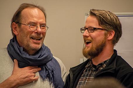Klaus Magesching im Abschlussgespräch mit Tobias Pütz