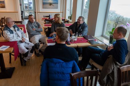 Pressegespräch im Hotel Alte Fischreischule