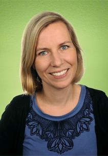PEKiP-Gruppenleiterin Kathrin Meyer (Dipl. Pädagogin)