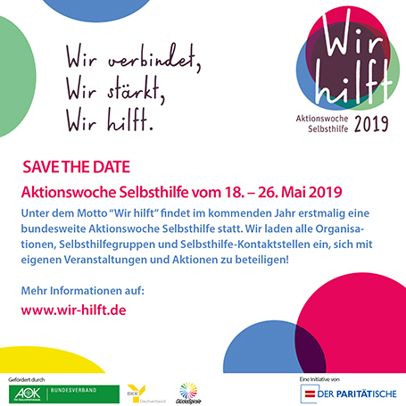 Aktionswoche Selbsthilfe 2019