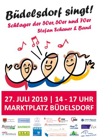 Büdelsdorf singt Lokale Allianz Demenz