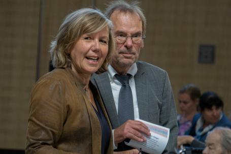 Heike Rullmann und Klaus Magesching