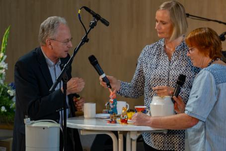 Michael Rapp, Silke Entz-vonZerssen und Karin Clausen Benckwitz