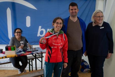 Triathlon-Siegerin Elena Berndt
