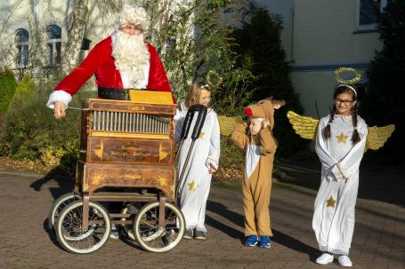 Ein sehr musikalischer Weihnachtsmann
