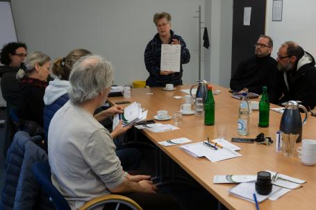 Antje Christiansen von der Stiftung 'Anerkennung und Hilfe'