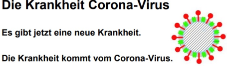 Corona - erklärt in leichter Sprache
