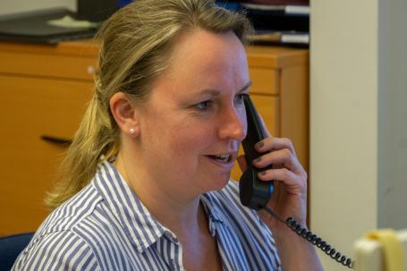 Melanie Rathe, Leitung der Brücke-Personalbetreuung)