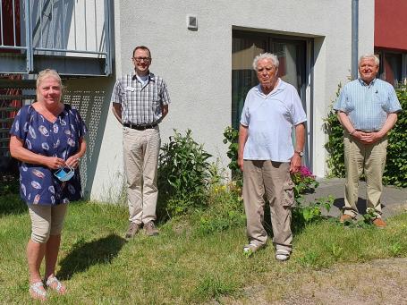 Im Gespräch mit dem Bewohnerbeirats der Gettorfer Seniorenwohnanlage