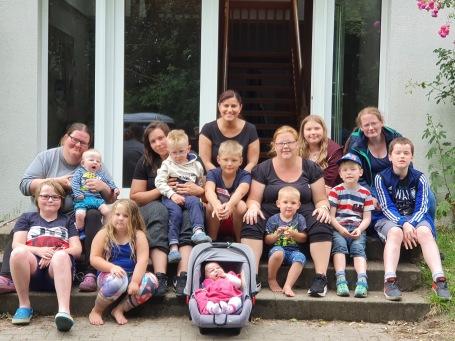 Gruppenerlebnis mit der Mastbrooker Mutter-Kind-Gruppe