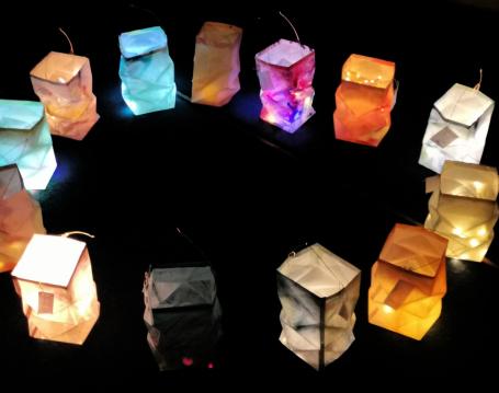 Lichterfest der Kita Farbenfroh