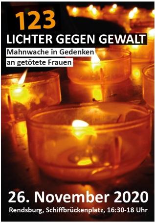 Lichter gegen Gewalt