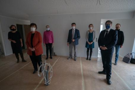 Frauenhaus - beispielhafte Kooperation