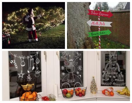 Weihnachtsabend in der Villa Schwensen