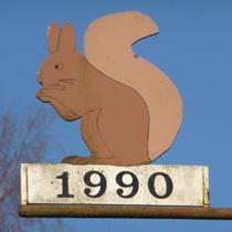 1990 Eichhörnchen