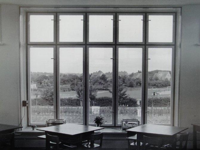Blick aus dem Klassenraum