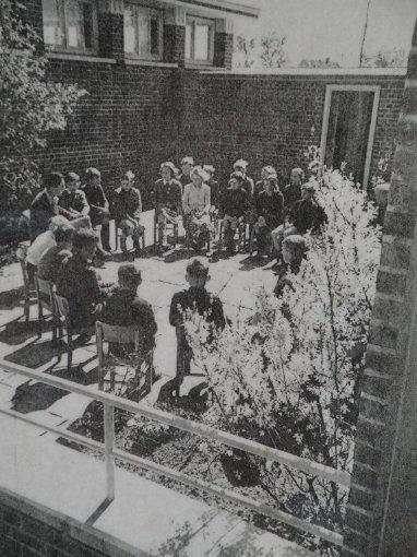 Im klasseneigenen Schulgarten
