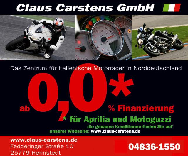 Claus Carstens  Aprilia- Moto Guzzi