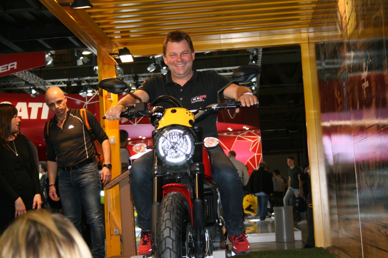 Ducati Scrambler live in Hennstedt 29.11.