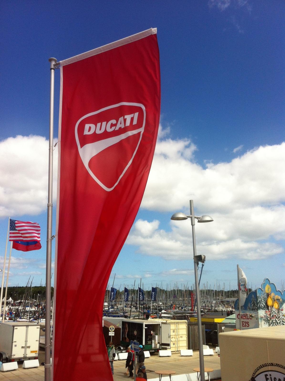 Ducati Schleswig Holstein cc-r auf der Kieler Woche