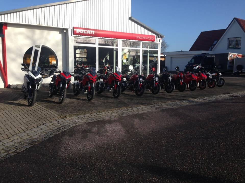 Demomotorräder Ducati Schleswig Holstein cc-r