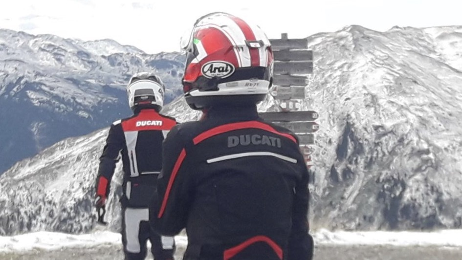Ducati Schleswig Holstein cc-r Italientour 2018